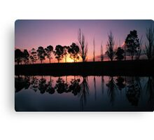 Tambo Reflections Canvas Print