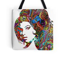 Amy Winehouse - Psychedelic Tote Bag