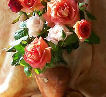 Rose Bouquet by JANET SUMMERS