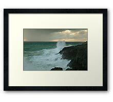 The Wild Side...Cape Bridgewater Framed Print