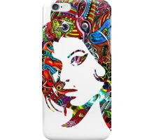 Amy Winehouse - Psychedelic iPhone Case/Skin