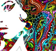 Amy Winehouse - Psychedelic Sticker