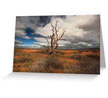 Dead Heart • South Australia Greeting Card
