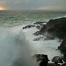 Storm,Cape Bridgewater by Joe Mortelliti