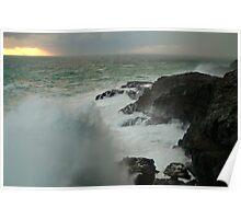 Storm,Cape Bridgewater Poster