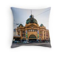 Station Street Flinders Throw Pillow