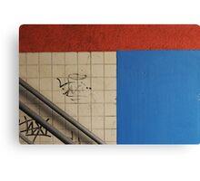 I wish it was a Mondriaan... Canvas Print