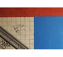I wish it was a Mondriaan... Photographic Print