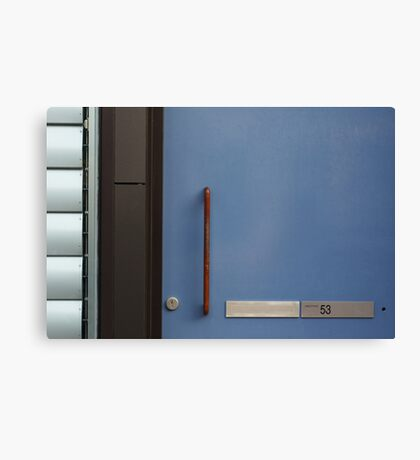 Architect Office Canvas Print