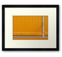That will keep it together Framed Print