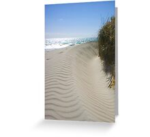 Joondalup Sand Dune Greeting Card