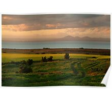Corio Bay Sunset,Bellarine Peninsula Poster
