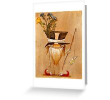 Cornish Fisher Faerie Greeting Card