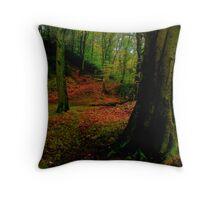 auturm trees Throw Pillow