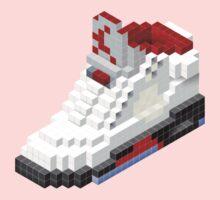 Air jordan V cube pixel One Piece - Short Sleeve