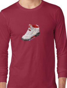 Air jordan V cube pixel Long Sleeve T-Shirt