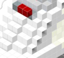 Air jordan V cube pixel Sticker