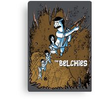 The Belchies Canvas Print