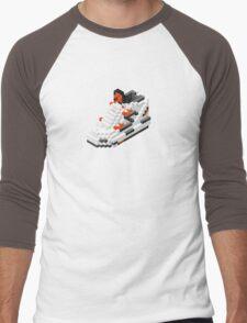 The Pump Pixel 3D Sneaker Men's Baseball ¾ T-Shirt