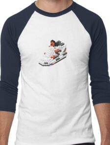 The Pump Pixel 3D Sneaker Men's Baseball ¾ T-Shirt