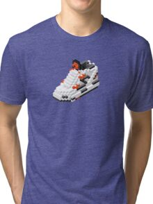 The Pump Pixel 3D Sneaker Tri-blend T-Shirt