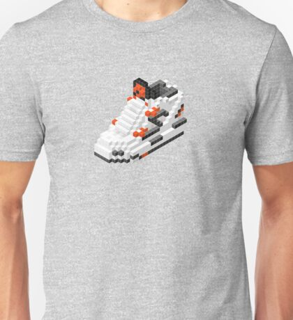 The Pump Pixel 3D Sneaker Unisex T-Shirt
