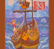 Captain Mango and First-mate Zoobie by Bob Burnham