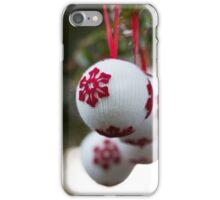 non-sparkly Christmas iPhone Case/Skin