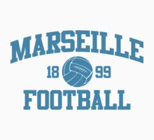 Marseille Football Athletic College Style 2 White by Toma-51