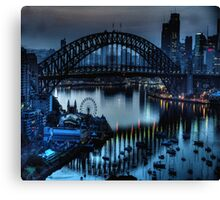 Double Vision - Moods Of A City The HDR Experience Canvas Print