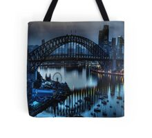Double Vision - Moods Of A City The HDR Experience Tote Bag