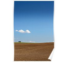 Landscape Hill Poster