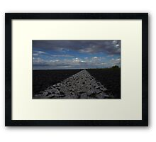 From here to... Framed Print
