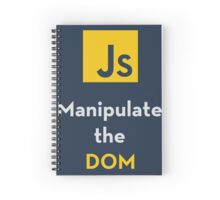 Javascript - Manipulate the DOM Spiral Notebook
