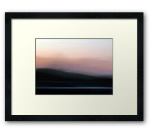 Time in Motion #2 Framed Print