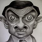 Mr.Bean by Bridie Flanagan by Bridie Flanagan