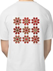 Bouquet of Roses Foot Flowers Classic T-Shirt