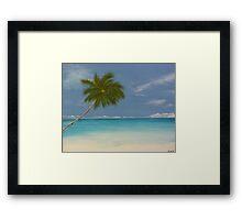 Jamaican Blue Framed Print