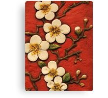 Chinese Blossom Canvas Print