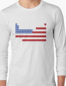 Patriotic Periodic Long Sleeve T-Shirt