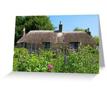 Thatched Cottage 2 Greeting Card