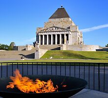 Shrine of Remembrance by Edy Lianto