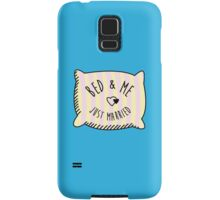 Bed & Me, Just Married Samsung Galaxy Case/Skin