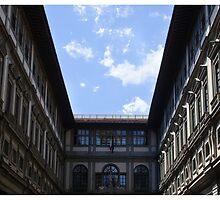 Postcard from the Uffizi by Paul Weston