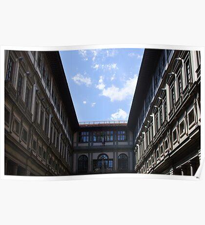 Postcard from the Uffizi Poster