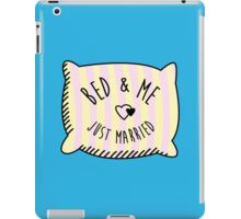 Bed & Me, Just Married iPad Case/Skin
