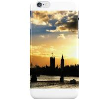 Sunset over the Thames iPhone Case/Skin