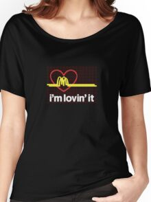 I'm lovin' that heart attack! Women's Relaxed Fit T-Shirt