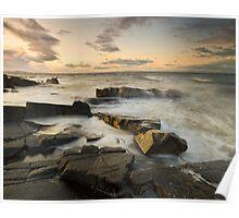 Longniddry Rocks Poster