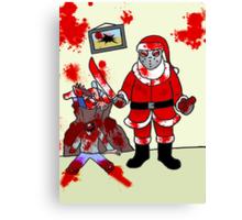 The Serial Santa  Canvas Print